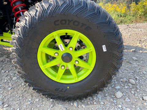 2021 Polaris RZR Turbo S Lifted Lime LE in Claysville, Pennsylvania - Photo 4
