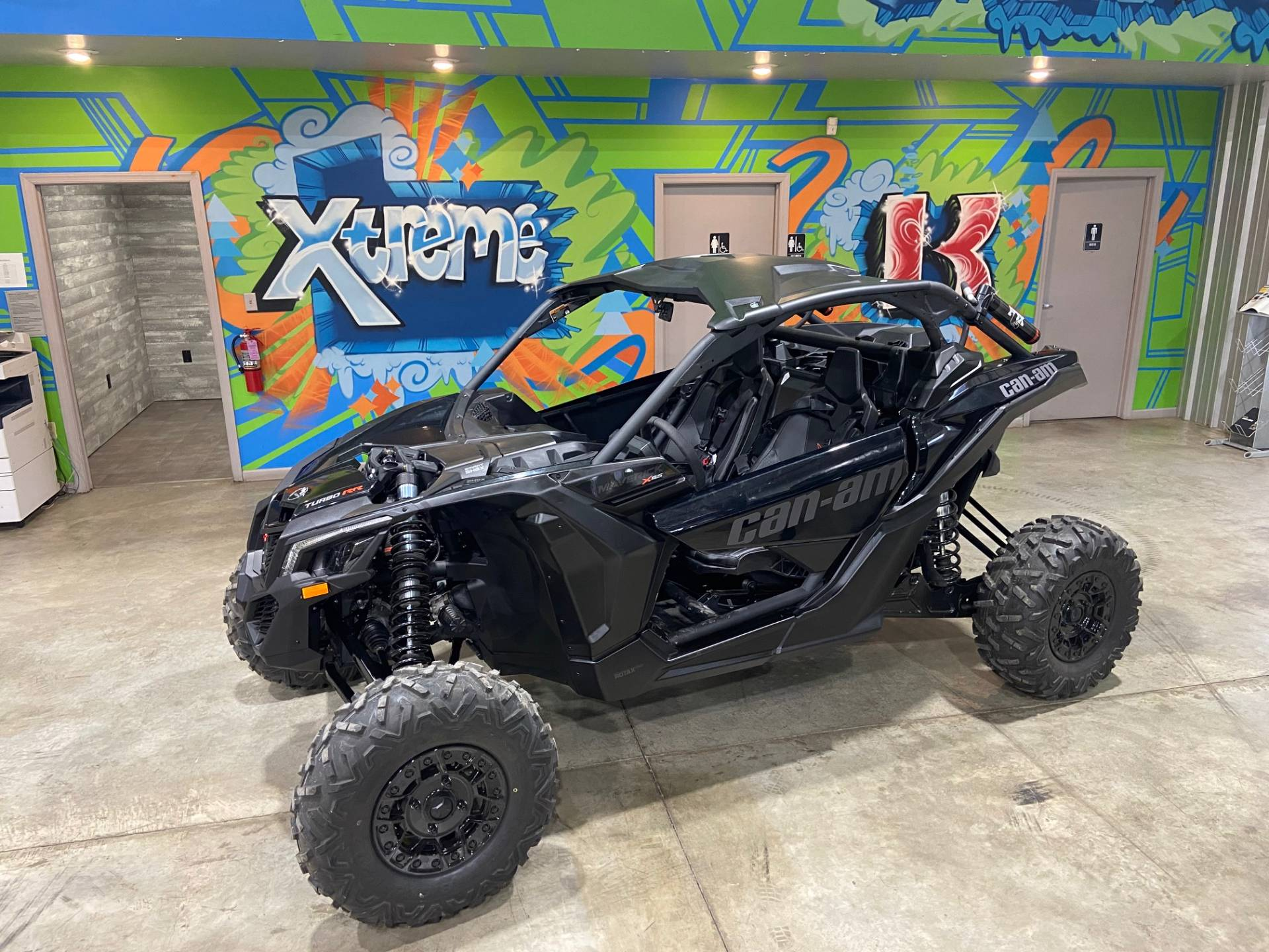 2021 Can-Am Maverick X3 X RS Turbo RR with Smart-Shox in Claysville, Pennsylvania - Photo 1