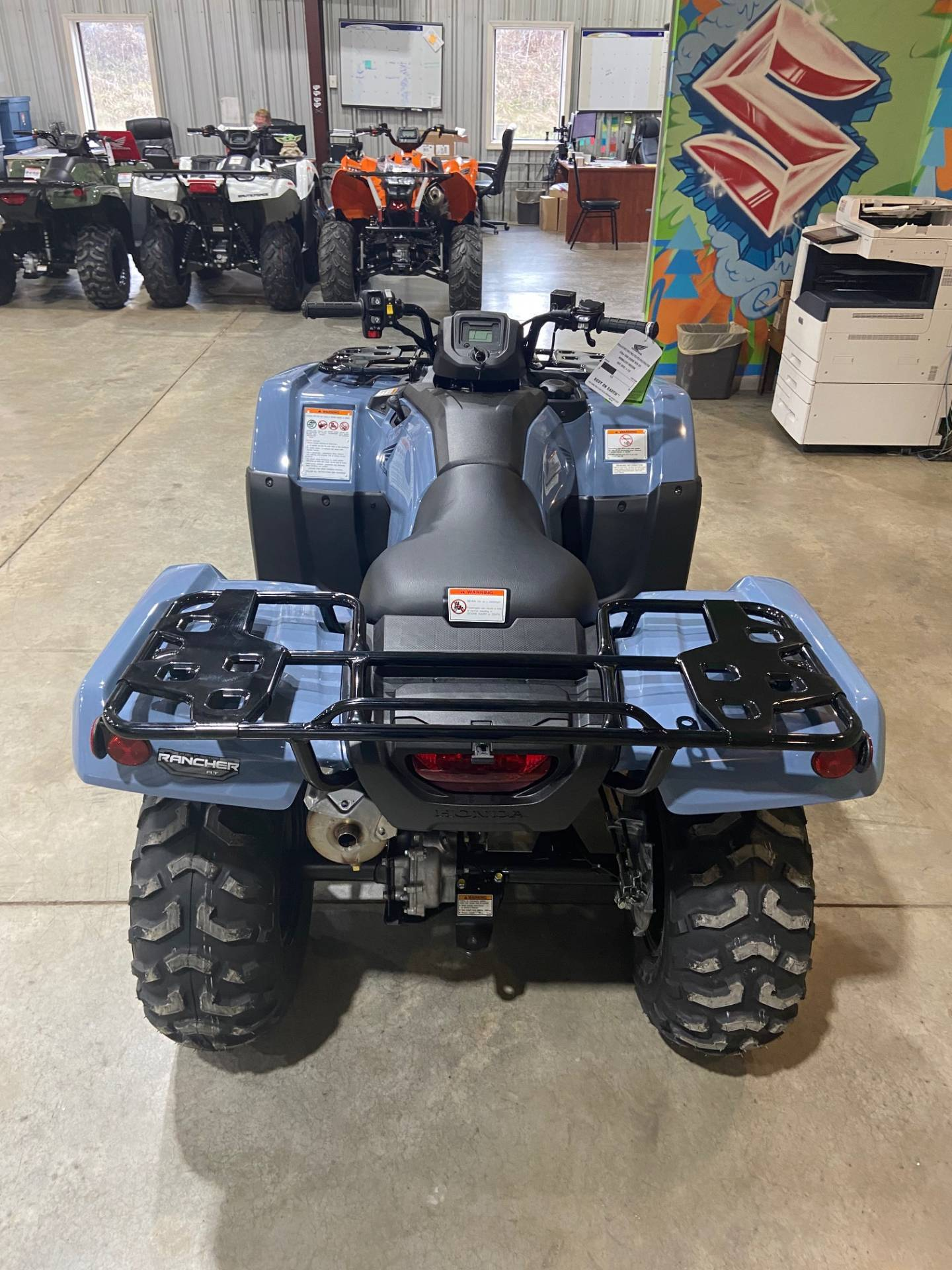 2021 Honda FourTrax Rancher 4x4 Automatic DCT EPS in Claysville, Pennsylvania - Photo 3
