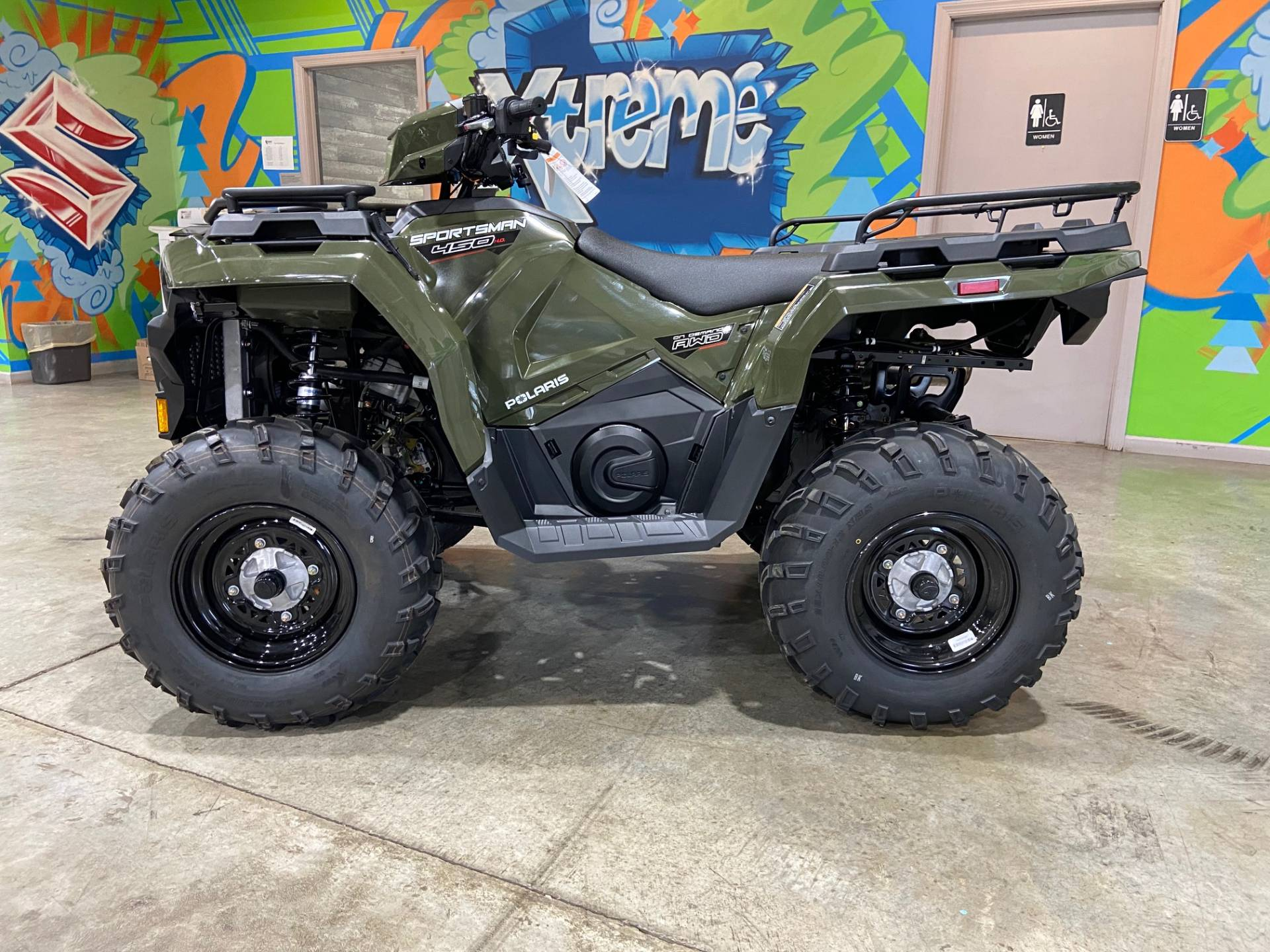 2021 Polaris Sportsman 450 H.O. EPS in Claysville, Pennsylvania - Photo 1