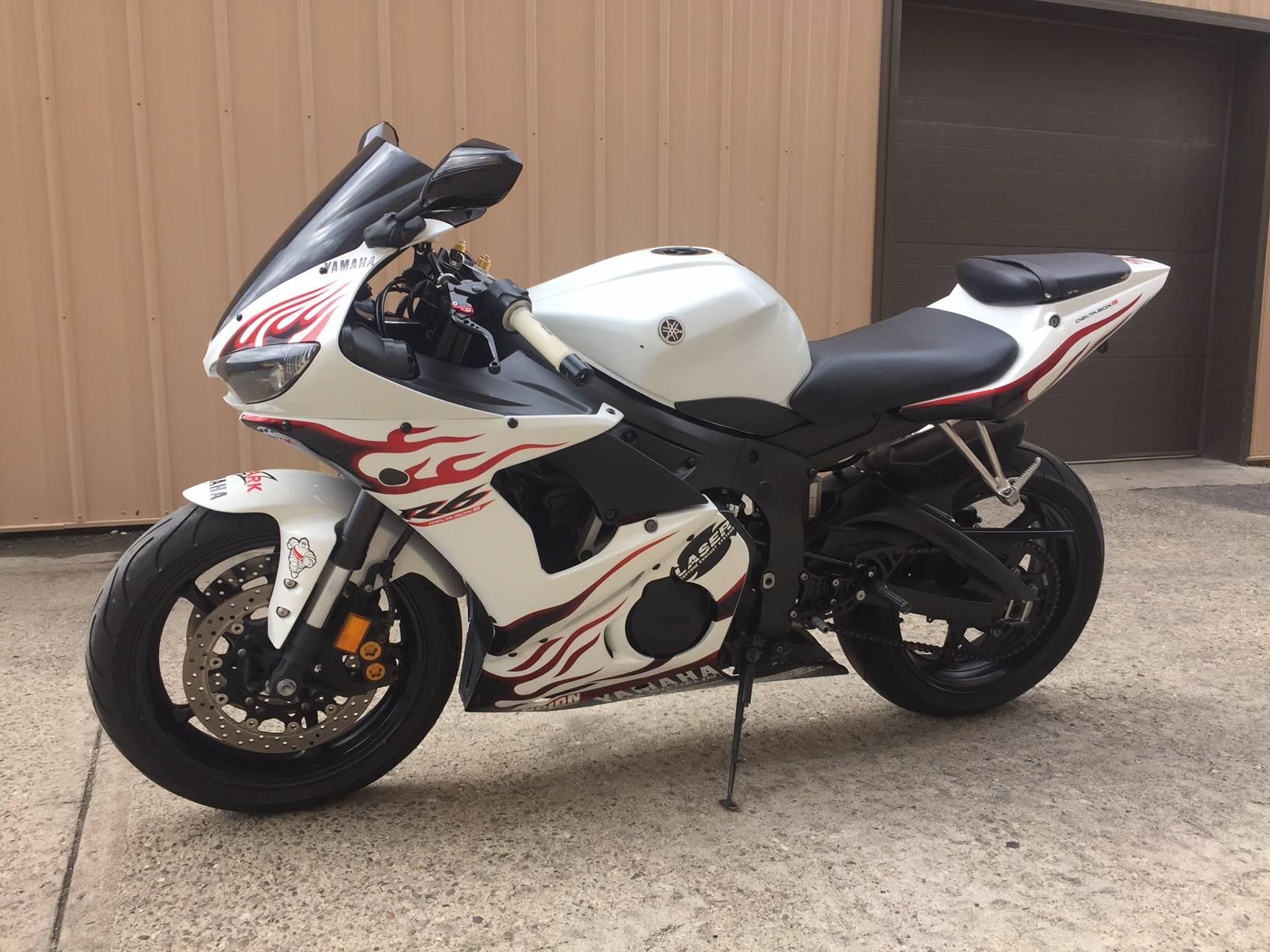 2005 Yamaha YZFR6 2
