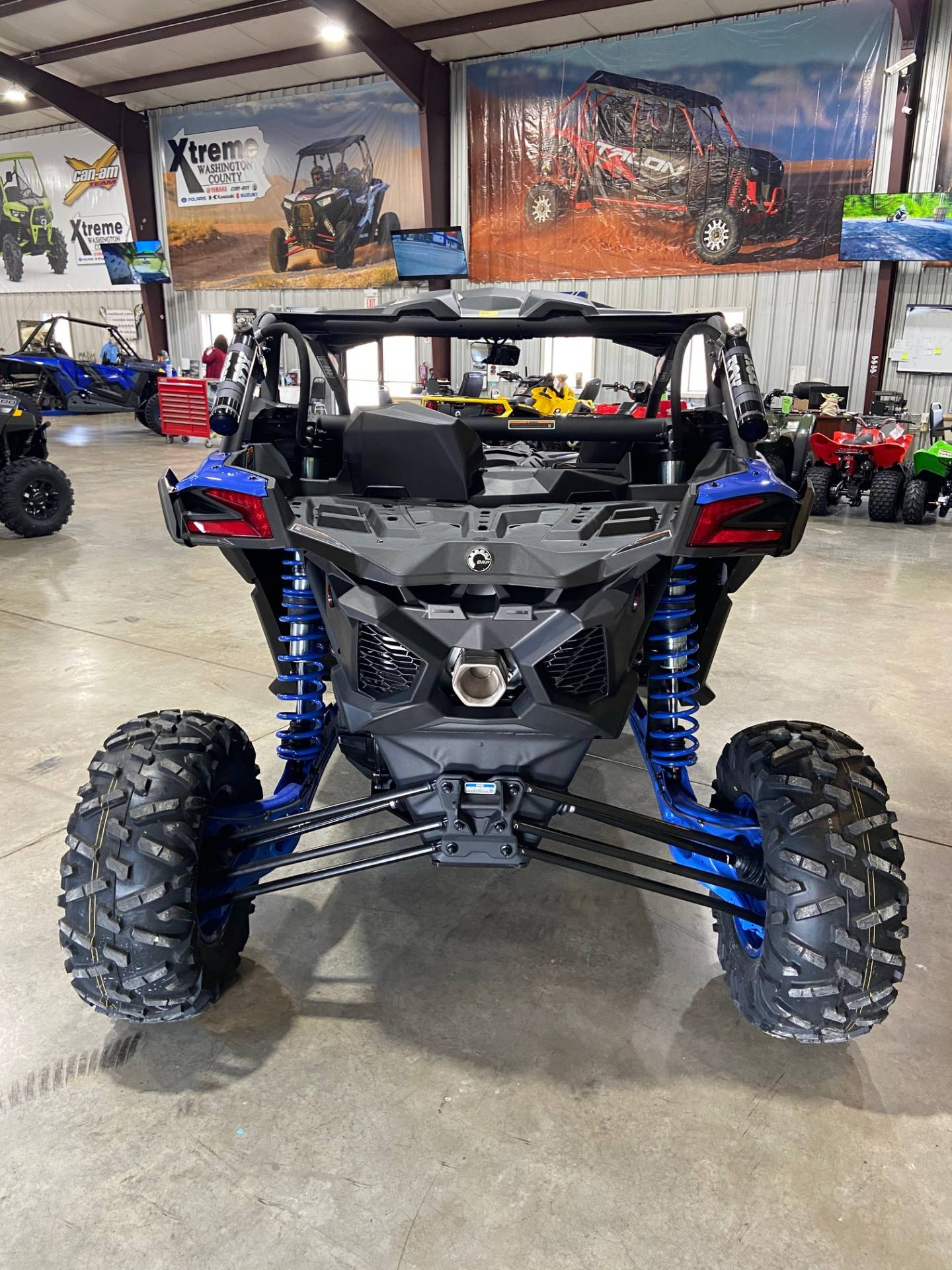 2021 Can-Am Maverick X3 X RS Turbo RR in Claysville, Pennsylvania - Photo 8