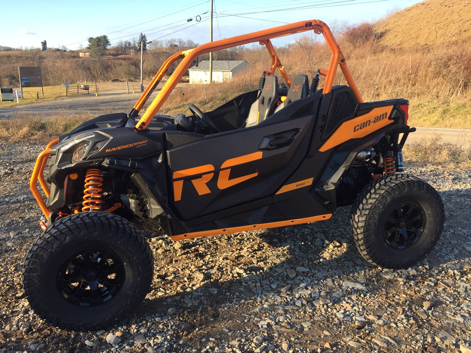 2020 Can-Am Maverick Sport X RC 1000R in Claysville, Pennsylvania - Photo 1