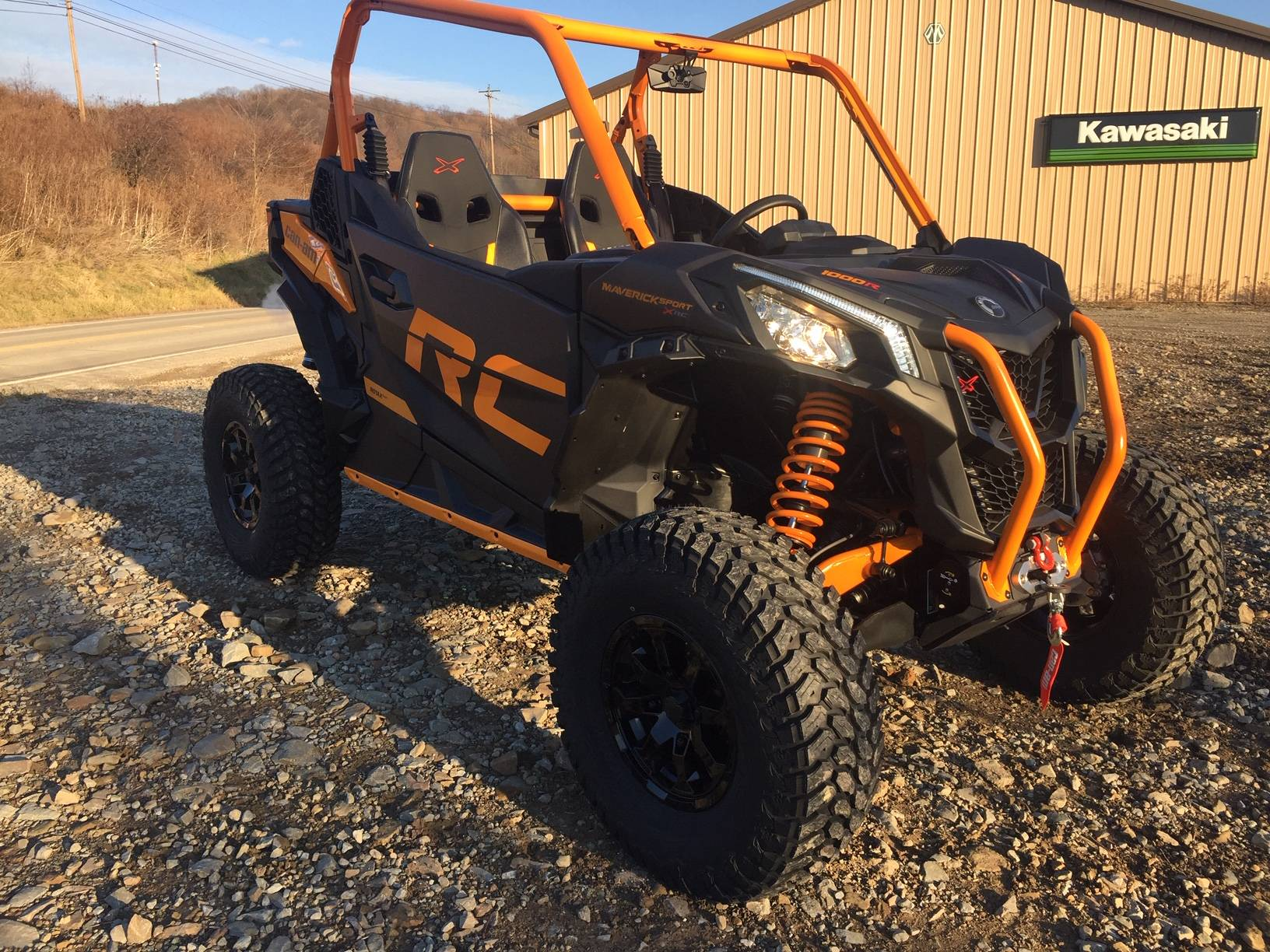 2020 Can-Am Maverick Sport X RC 1000R in Claysville, Pennsylvania - Photo 7