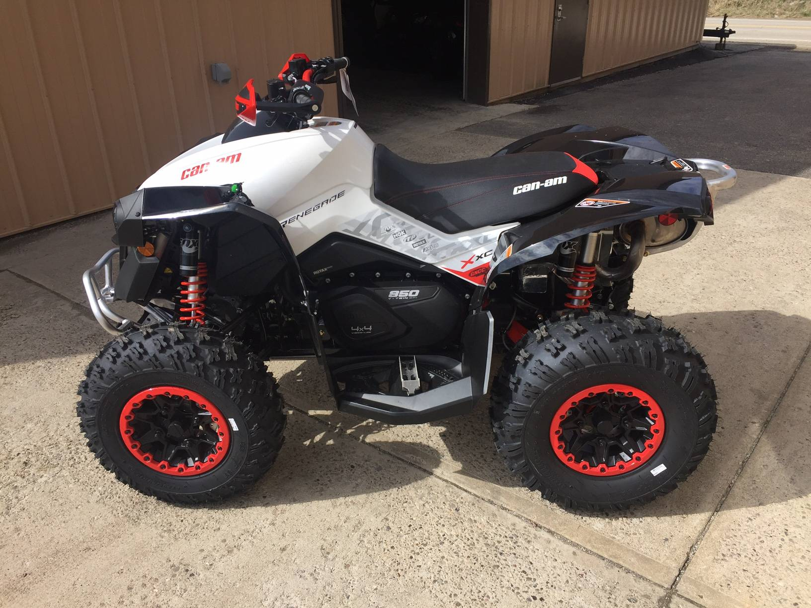 2018 can am renegade x xc 850 atvs claysville pennsylvania n a rh xtremeofwashingtoncounty com can am atv repair manuals Can-Am Four Wheelers