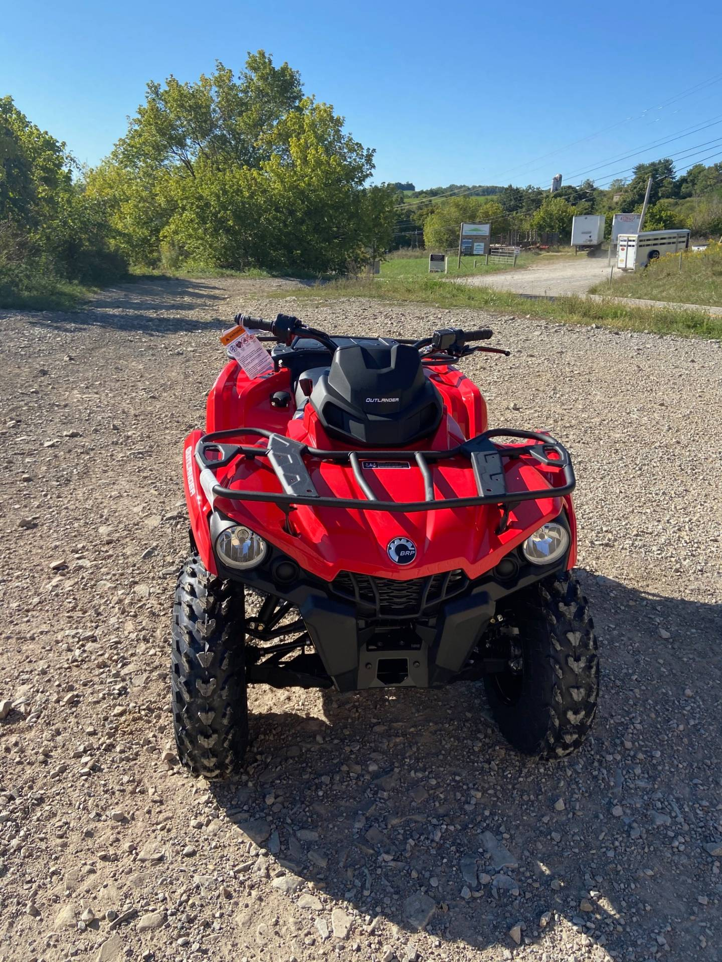 2021 Can-Am Outlander 570 in Claysville, Pennsylvania - Photo 3