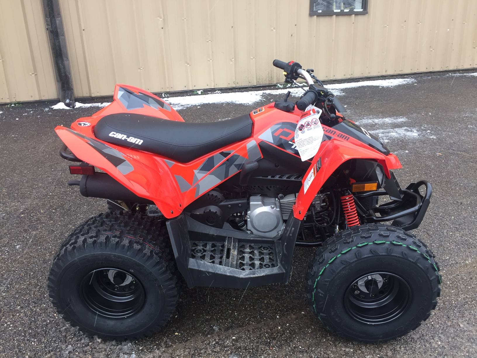 2019 Can-Am DS 70 in Claysville, Pennsylvania
