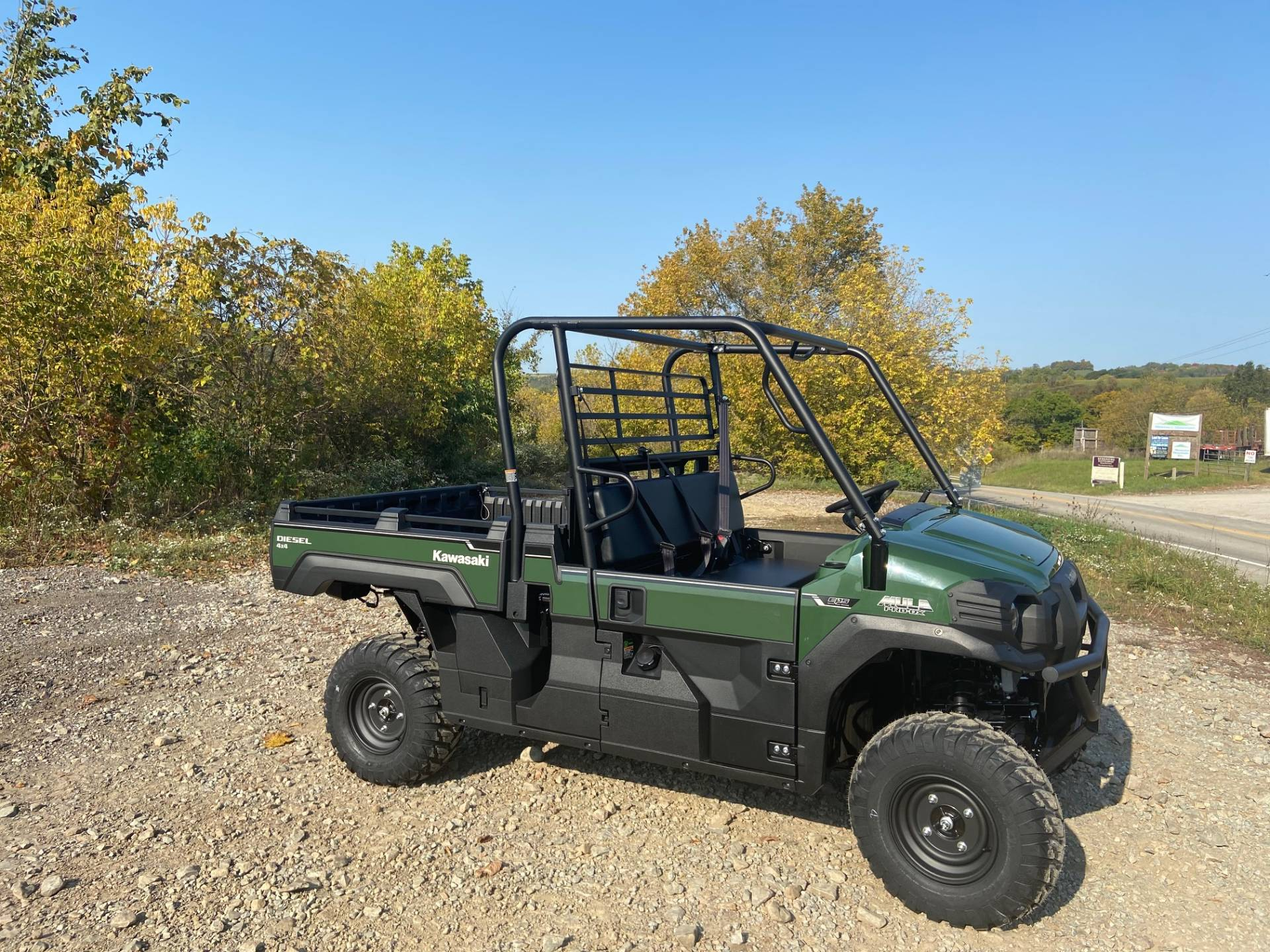 2021 Kawasaki Mule PRO-DX EPS Diesel in Claysville, Pennsylvania - Photo 4