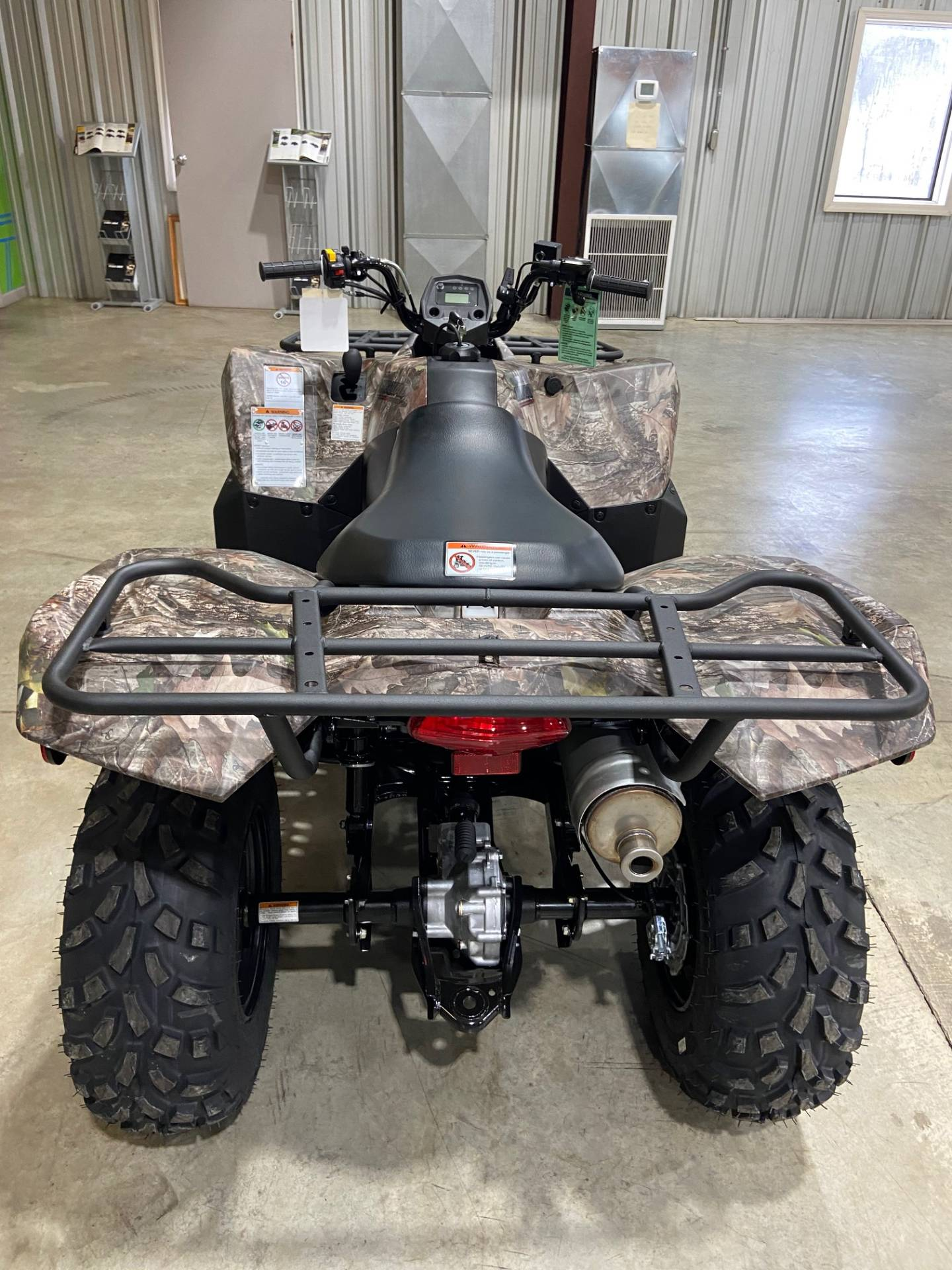2021 Suzuki KingQuad 400ASi Camo in Claysville, Pennsylvania - Photo 5