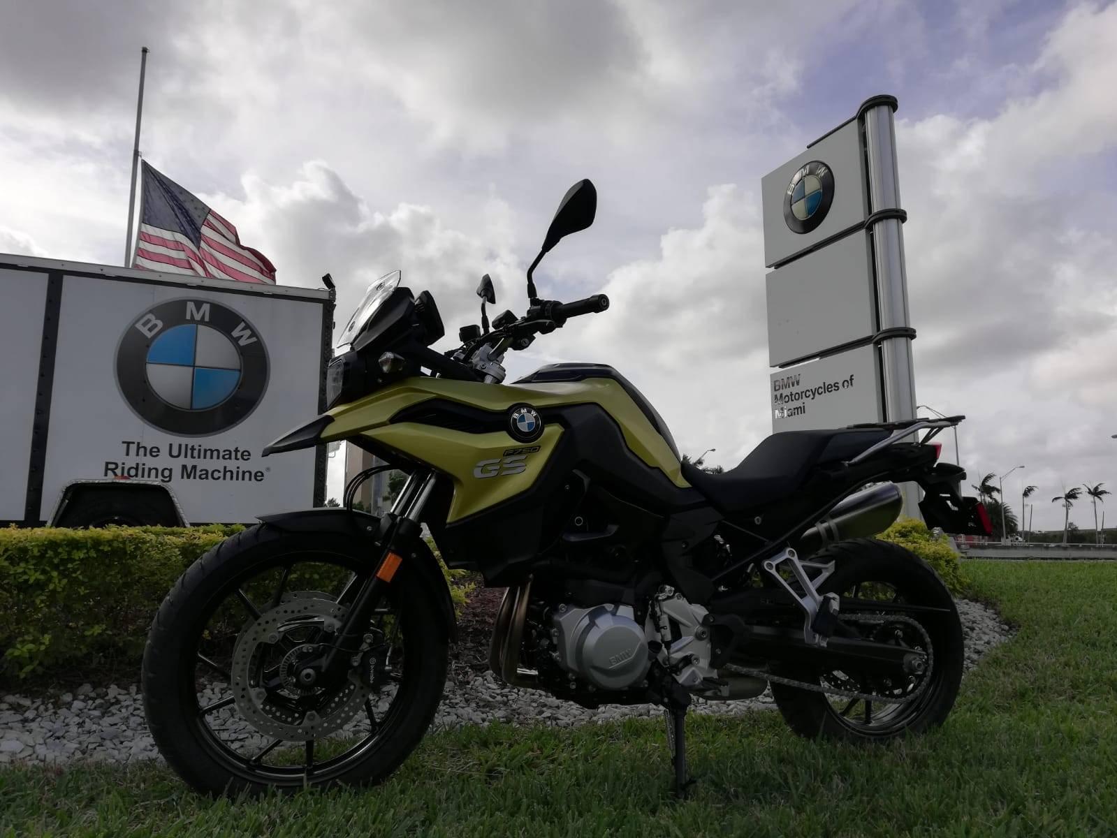2019 BMW F 750 GS 7