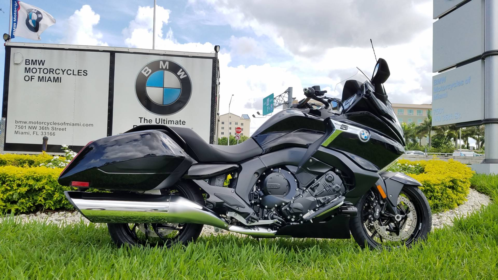 New 2018 BMW K 1600 B For Sale Bagger