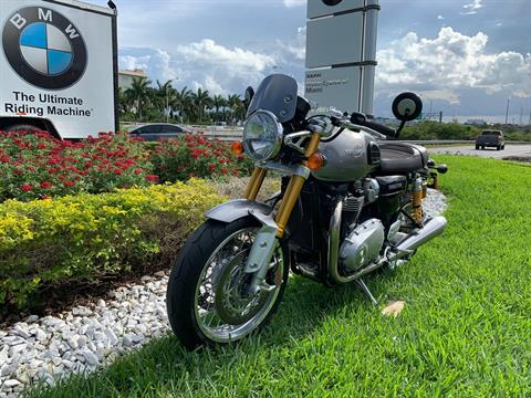 Used 2016 Triumph Thruxton 1200 R for sale,  2016 Triumph Thruxton 1200R for sale,  Triumph Thruxton1200R,  Used ThruxtonR, Cafe. Cruiser, BMW Motorcycles of Miami, Motorcycles of Miami, Motorcycles Miami, New Motorcycles, Used Motorcycles, pre-owned. #BMWMotorcyclesOfMiami #MotorcyclesOfMiami #Moto - Photo 4