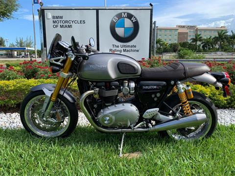 Used 2016 Triumph Thruxton 1200 R for sale,  2016 Triumph Thruxton 1200R for sale,  Triumph Thruxton1200R,  Used ThruxtonR, Cafe. Cruiser, BMW Motorcycles of Miami, Motorcycles of Miami, Motorcycles Miami, New Motorcycles, Used Motorcycles, pre-owned. #BMWMotorcyclesOfMiami #MotorcyclesOfMiami #Moto - Photo 7