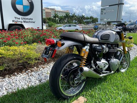 Used 2016 Triumph Thruxton 1200 R for sale,  2016 Triumph Thruxton 1200R for sale,  Triumph Thruxton1200R,  Used ThruxtonR, Cafe. Cruiser, BMW Motorcycles of Miami, Motorcycles of Miami, Motorcycles Miami, New Motorcycles, Used Motorcycles, pre-owned. #BMWMotorcyclesOfMiami #MotorcyclesOfMiami #Moto - Photo 19