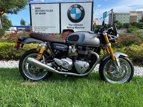 Used 2016 Triumph Thruxton 1200 R for sale,  2016 Triumph Thruxton 1200R for sale,  Triumph Thruxton1200R,  Used ThruxtonR, Cafe. Cruiser, BMW Motorcycles of Miami, Motorcycles of Miami, Motorcycles Miami, New Motorcycles, Used Motorcycles, pre-owned. #BMWMotorcyclesOfMiami #MotorcyclesOfMiami #Moto - Photo 22