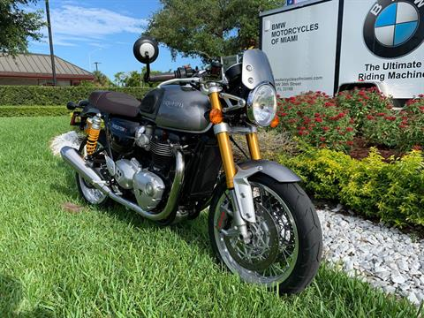 Used 2016 Triumph Thruxton 1200 R for sale,  2016 Triumph Thruxton 1200R for sale,  Triumph Thruxton1200R,  Used ThruxtonR, Cafe. Cruiser, BMW Motorcycles of Miami, Motorcycles of Miami, Motorcycles Miami, New Motorcycles, Used Motorcycles, pre-owned. #BMWMotorcyclesOfMiami #MotorcyclesOfMiami #Moto - Photo 25