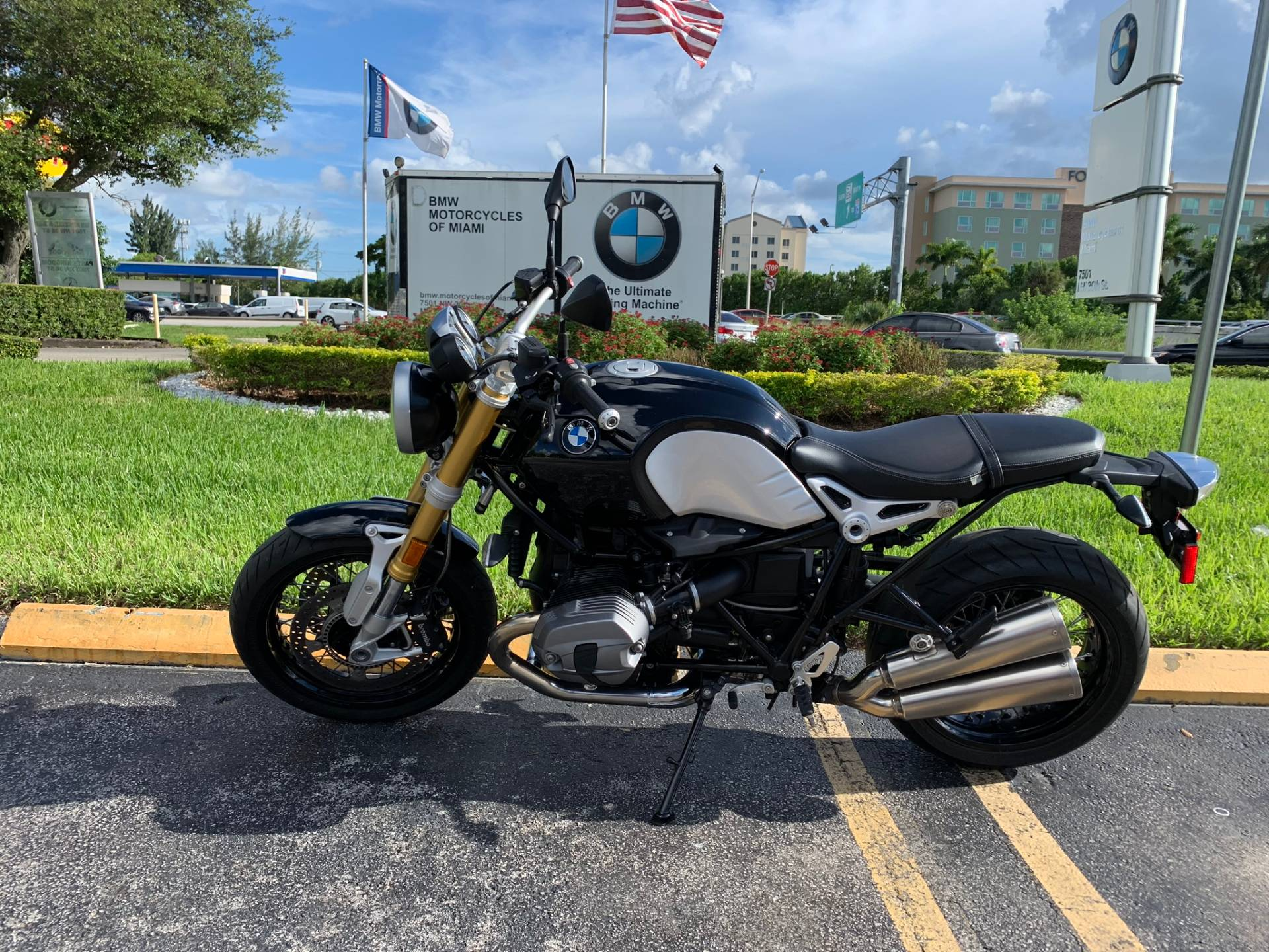Used 2016 BMW R NineT for sale, BMW for sale, BMW Motorcycle Café Racer, new BMW Caffe, Cafe Racer, BMW. BMW Motorcycles of Miami, Motorcycles of Miami, Motorcycles Miami, New Motorcycles, Used Motorcycles, pre-owned. #BMWMotorcyclesOfMiami #MotorcyclesOfMiami. - Photo 1