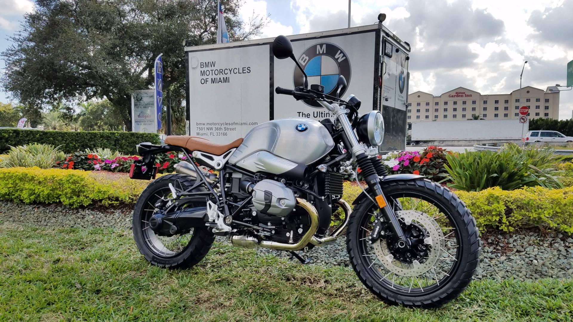 New 2016 BMW R nine T Scrambler For Sale, BMW Scrambler For Sale, BMW Motorcycle Scrambler brushed aluminum