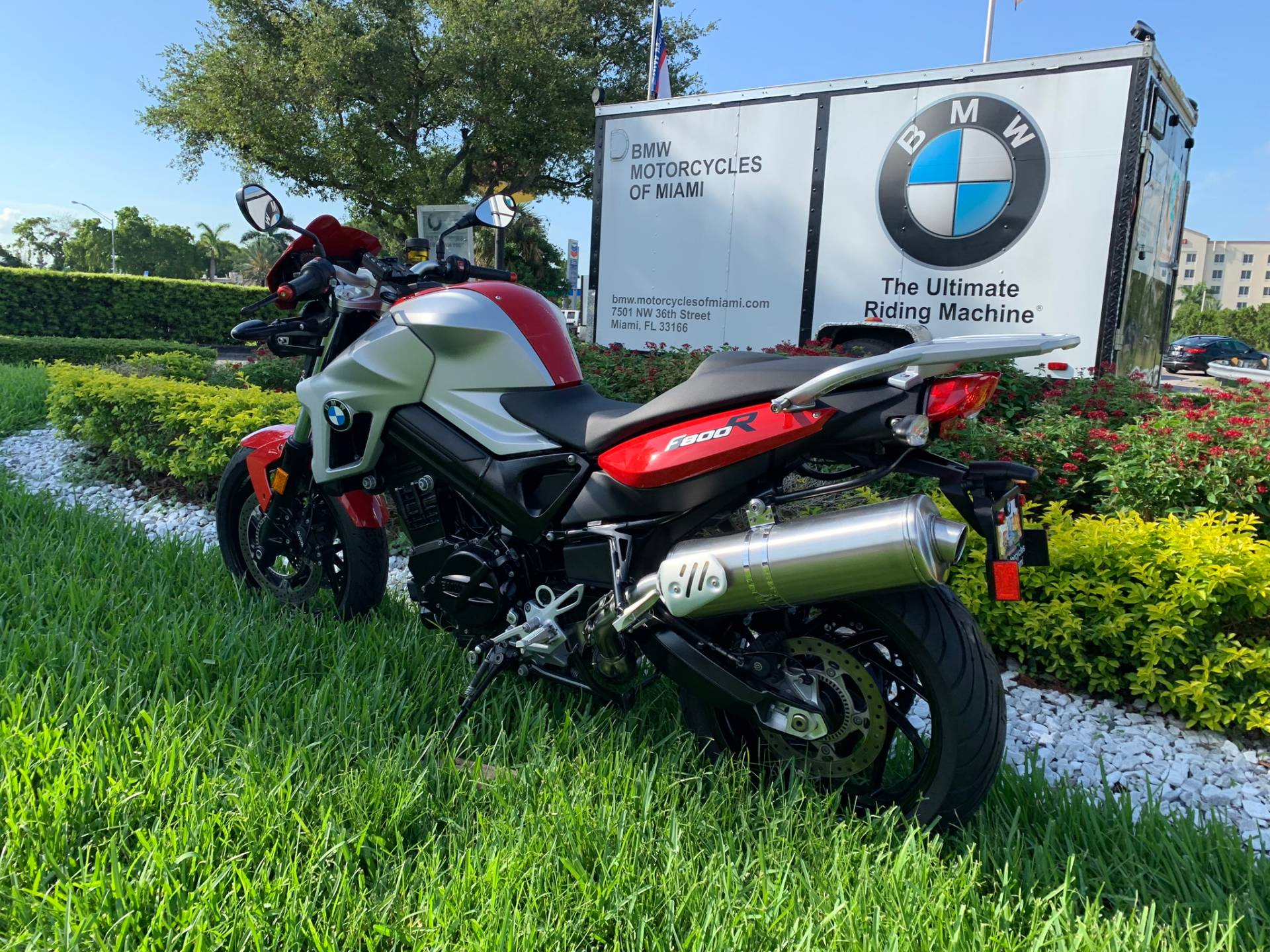 Used 2012 BMW F 800 R for sale, BMW F 800R for sale, BMW Motorcycle F800R, used BMW Roaster, Naked, 800, BMW. BMW Motorcycles of Miami, Motorcycles of Miami, Motorcycles Miami, New Motorcycles, Used Motorcycles, pre-owned. #BMWMotorcyclesOfMiami #MotorcyclesOfMiami. - Photo 9
