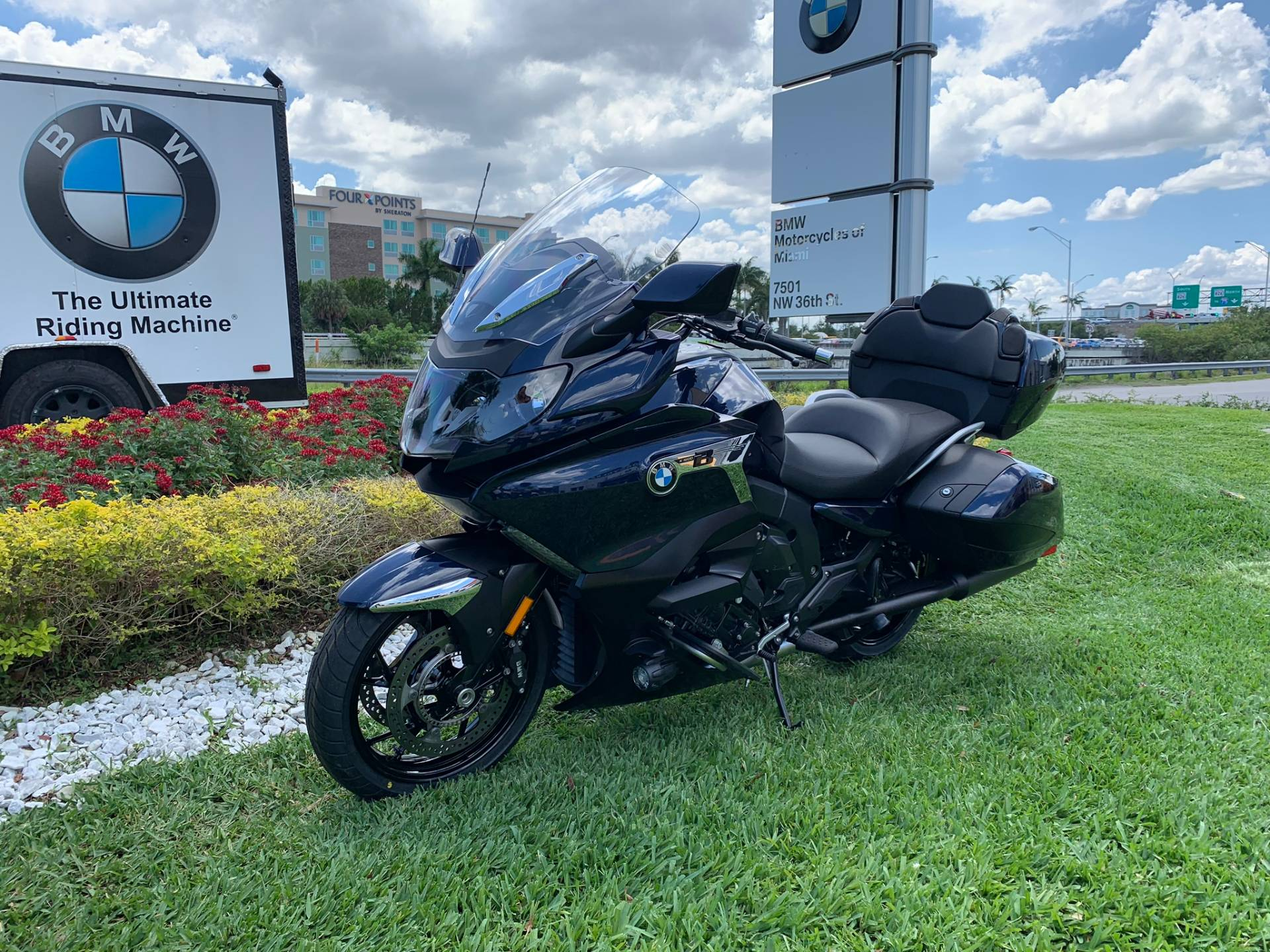 New 2019 BMW K 1600 B for sale, BMW K 1600B for sale, BMW Motorcycle K1600B, new BMW Bagger, Gran America. BMW Motorcycles of Miami, Motorcycles of Miami, Motorcycles Miami - Photo 4