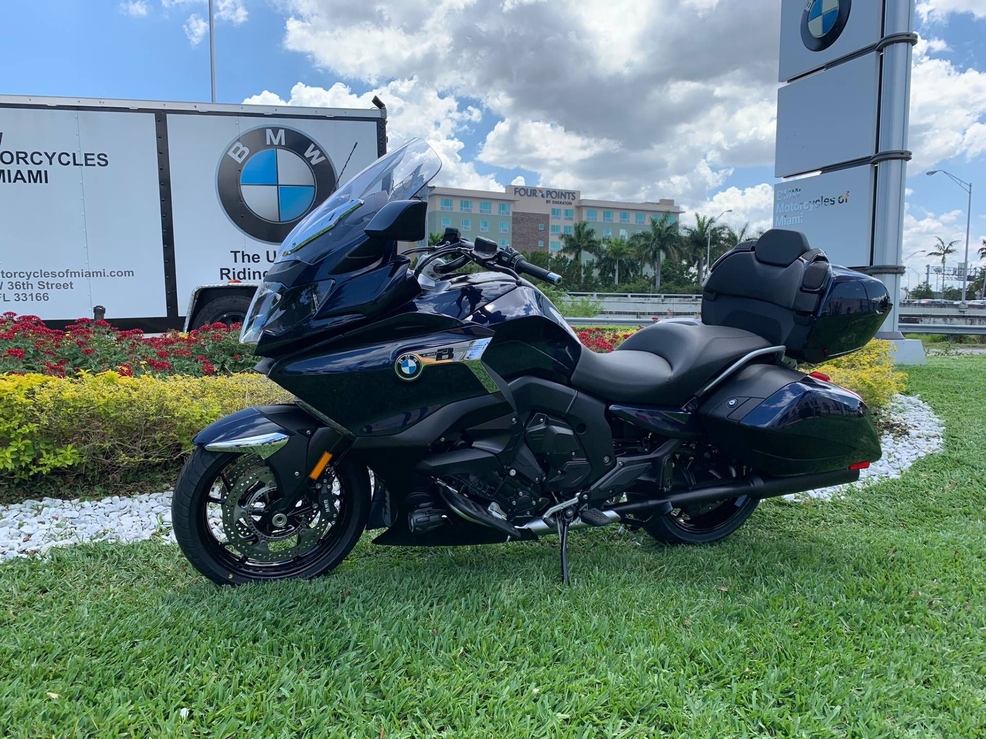 New 2019 BMW K 1600 B for sale, BMW K 1600B for sale, BMW Motorcycle K1600B, new BMW Bagger, Gran America. BMW Motorcycles of Miami, Motorcycles of Miami, Motorcycles Miami - Photo 5