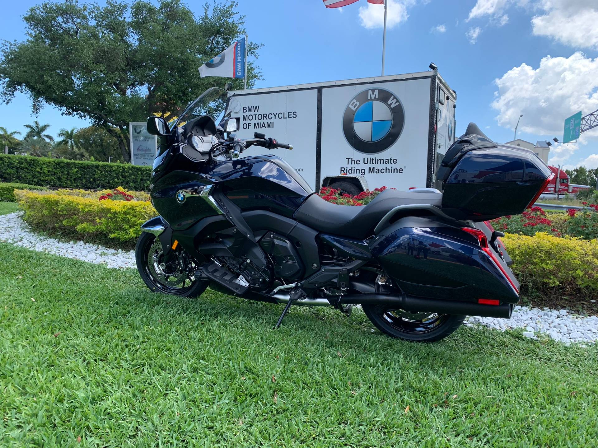 New 2019 BMW K 1600 B for sale, BMW K 1600B for sale, BMW Motorcycle K1600B, new BMW Bagger, Gran America. BMW Motorcycles of Miami, Motorcycles of Miami, Motorcycles Miami - Photo 6