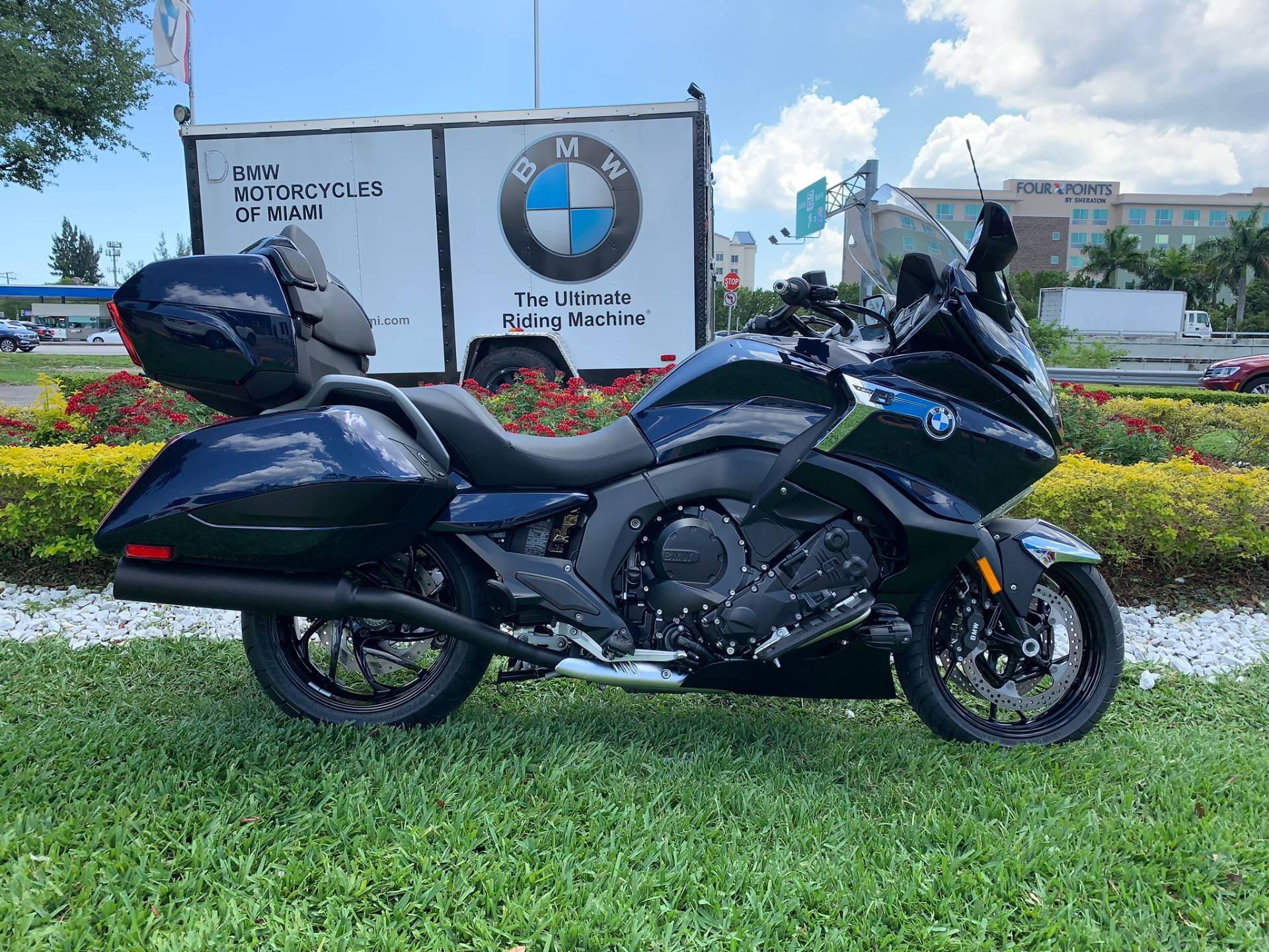 New 2019 BMW K 1600 B for sale, BMW K 1600B for sale, BMW Motorcycle K1600B, new BMW Bagger, Gran America. BMW Motorcycles of Miami, Motorcycles of Miami, Motorcycles Miami - Photo 24