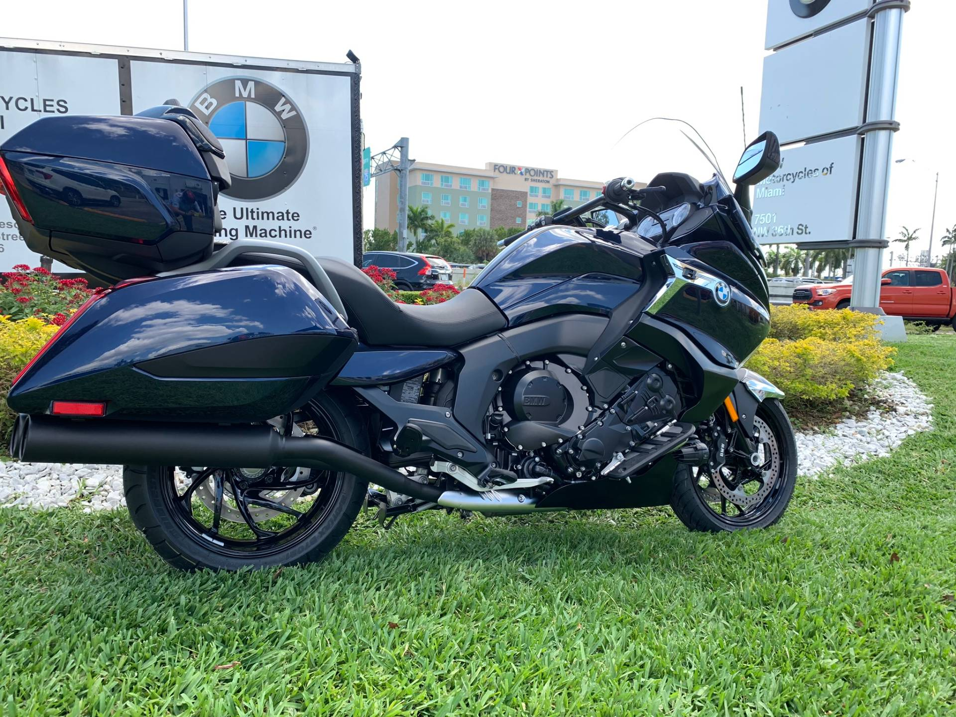 New 2019 BMW K 1600 B for sale, BMW K 1600B for sale, BMW Motorcycle K1600B, new BMW Bagger, Gran America. BMW Motorcycles of Miami, Motorcycles of Miami, Motorcycles Miami - Photo 25