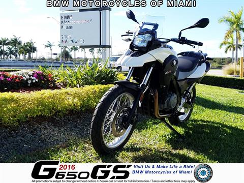 2016 BMW G 650 GS in Miami, Florida