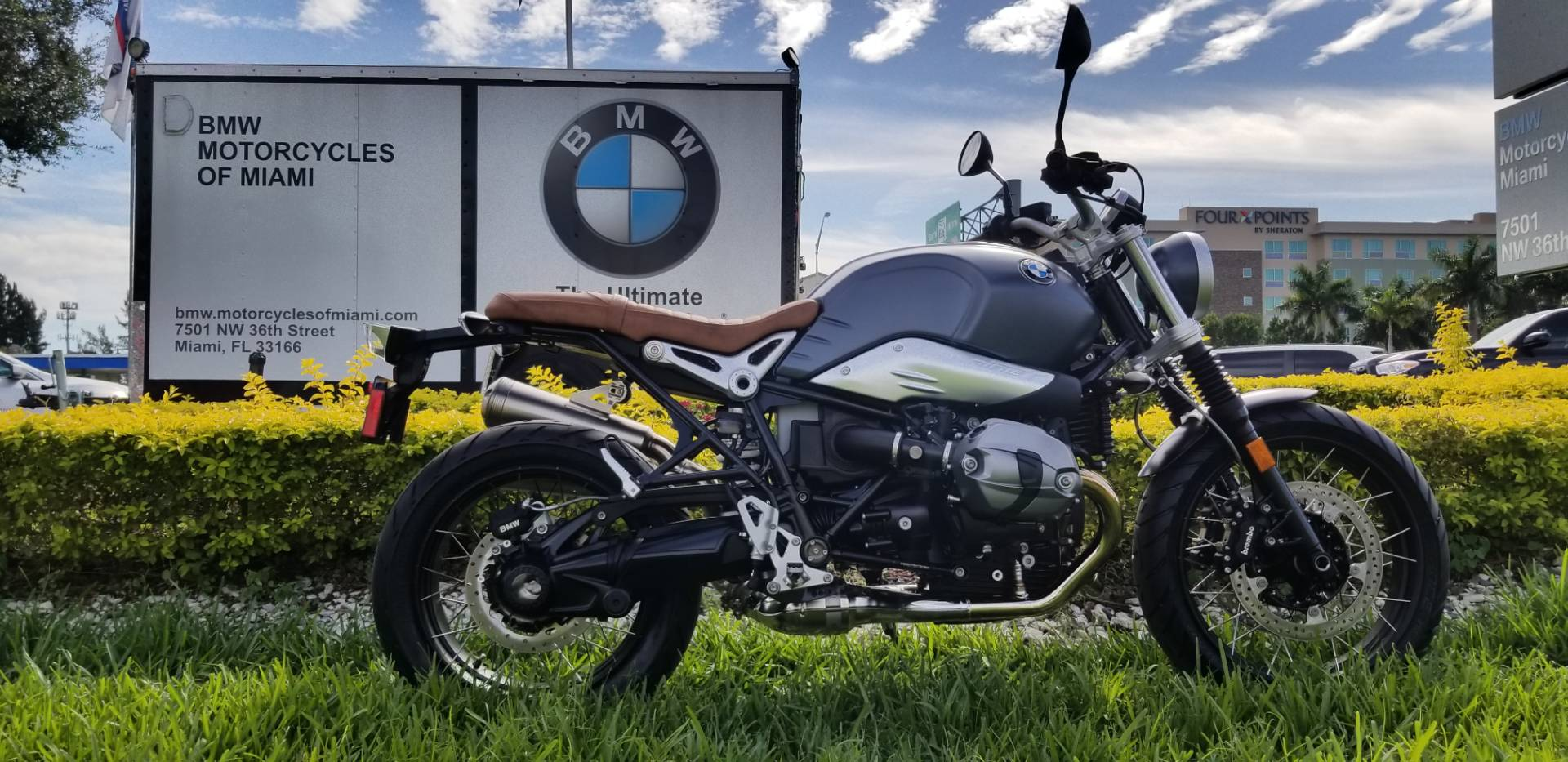 New 2019 BMW R NineT Scrambler for sale, BMW for sale, BMW Motorcycle Café Racer, new BMW Scrambler, Srambler, BMW. BMW Motorcycles of Miami, Motorcycles of Miami - Photo 18