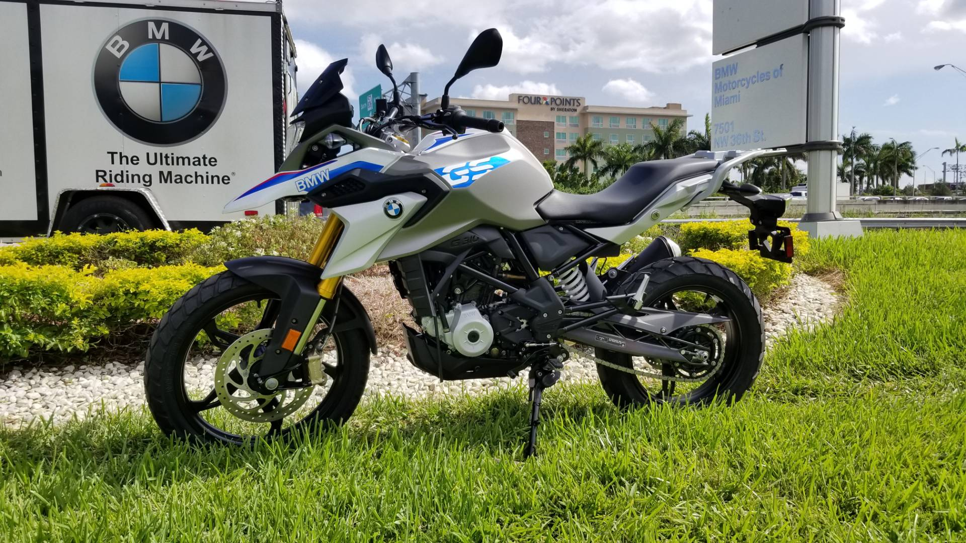 New 2019 BMW G 310 GS for sale, BMW G 310GS for sale, BMW Motorcycle G310GS, new BMW 310, Dual, BMW. BMW Motorcycles of Miami, Motorcycles of Miami, Motorcycles Miami, New Motorcycles, Used Motorcycles, pre-owned. #BMWMotorcyclesOfMiami #MotorcyclesOfMiami - Photo 5