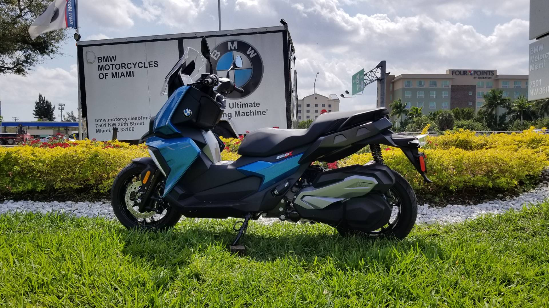 New 2019 BMW C 400 X for sale, BMW C 400X for sale, BMW Scooter, new BMW Scooter, C400X, BMW Motorcycles of Miami, Motorcycles of Miami, Motorcycles Miami - Photo 2