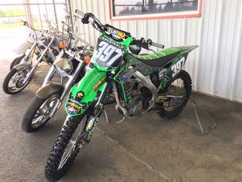 2016 Kawasaki KX250F in Poteau, Oklahoma