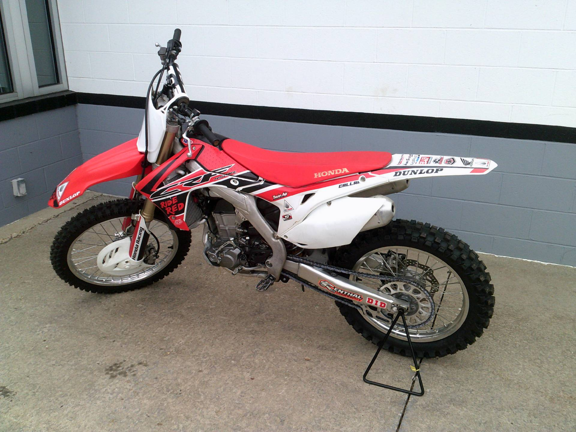 2015 Honda CRF®450R in Mount Vernon, Ohio