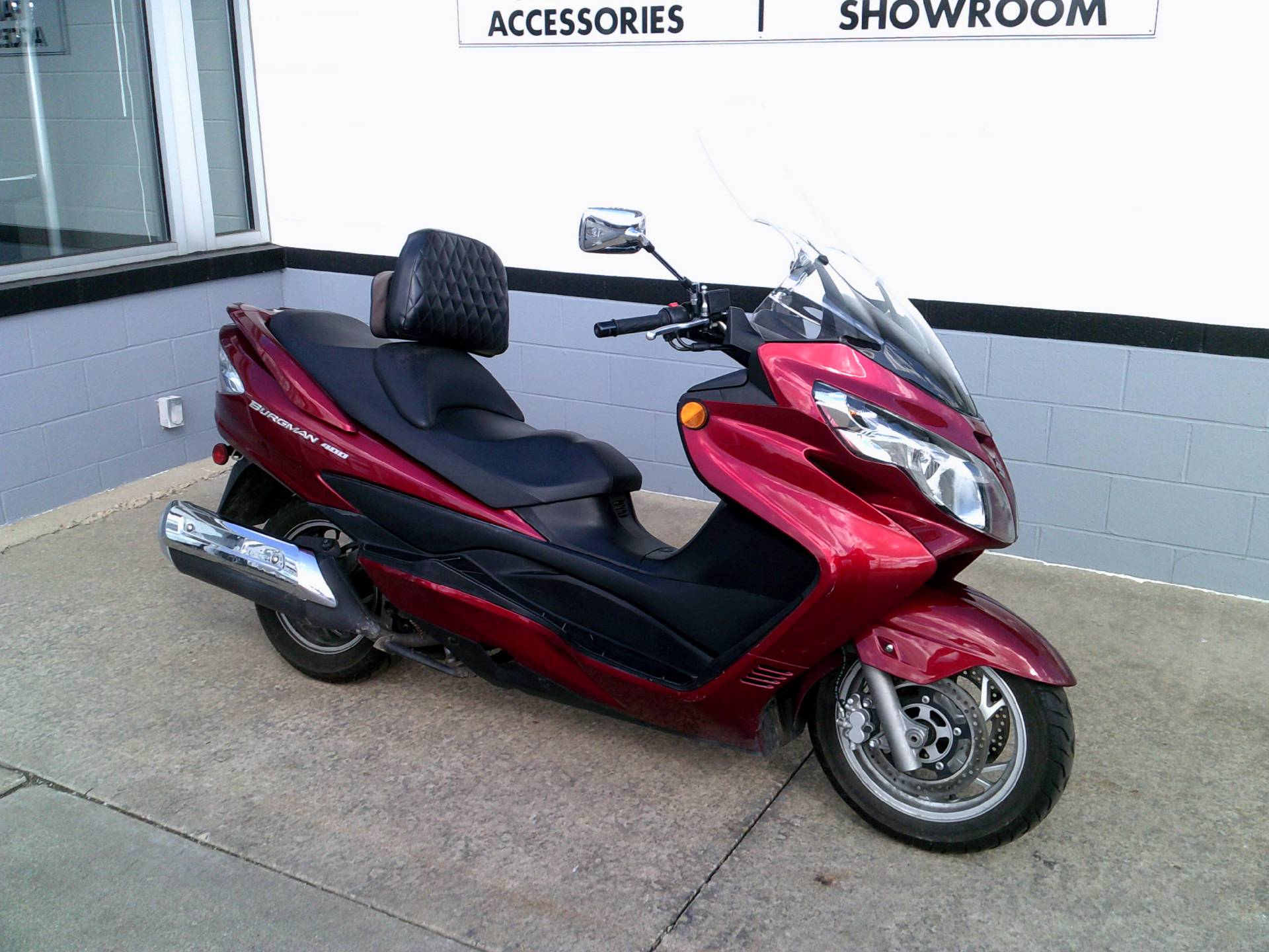 2008 Suzuki Burgman™ 400 in Mount Vernon, Ohio