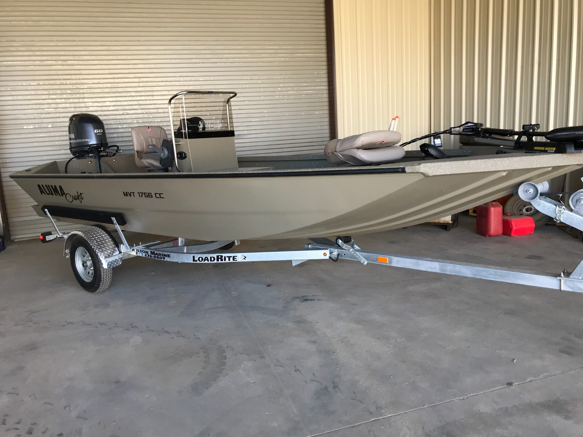 2018 Alumacraft MVT 1756 CC in Newberry, South Carolina