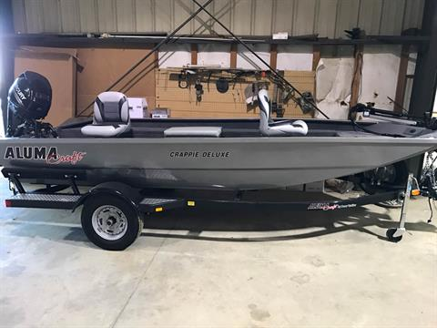 2016 Alumacraft Crappie Deluxe in Newberry, South Carolina