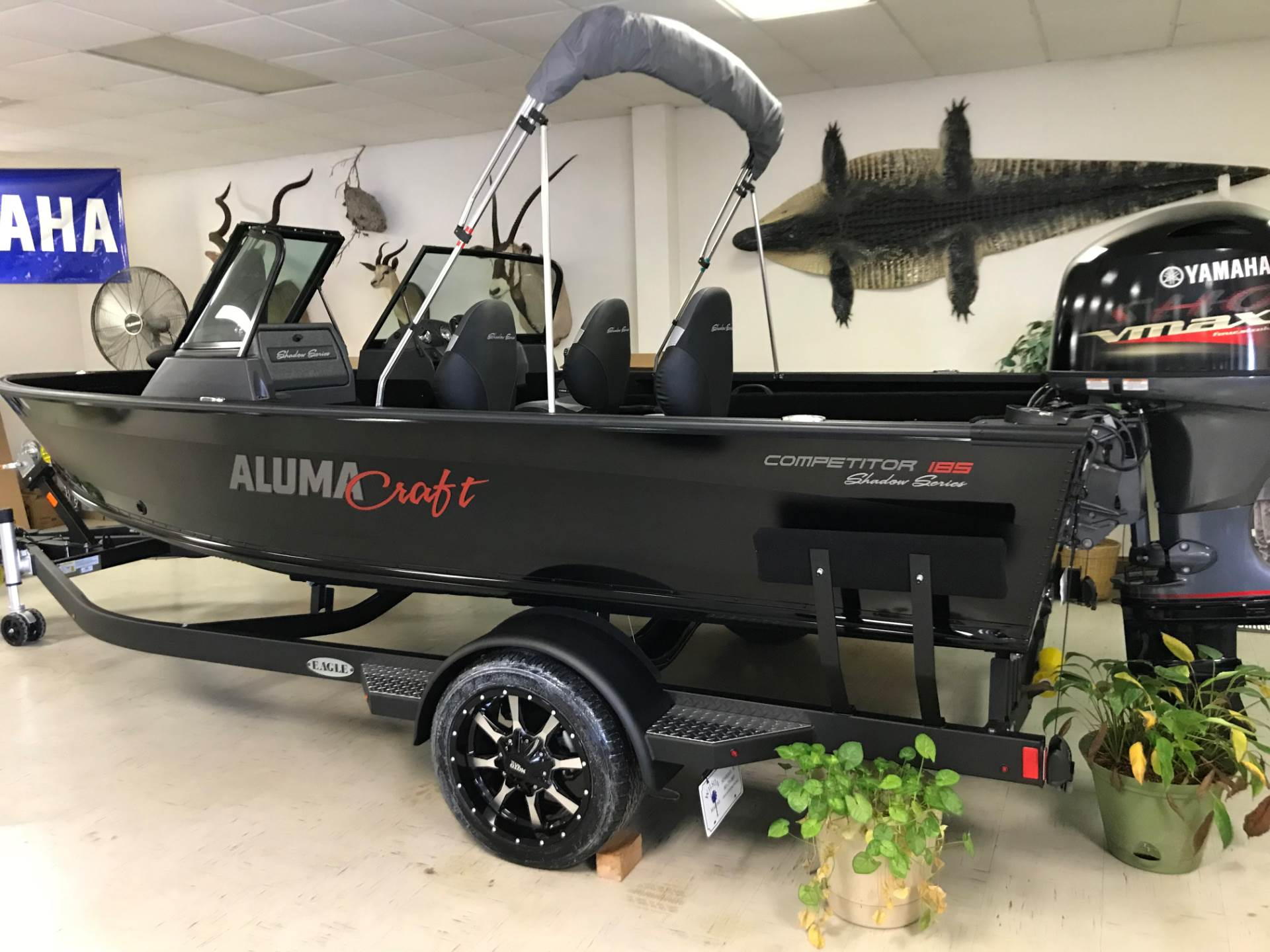 2018 Alumacraft COMPETITOR 185 SPT SHADOW in Newberry, South Carolina