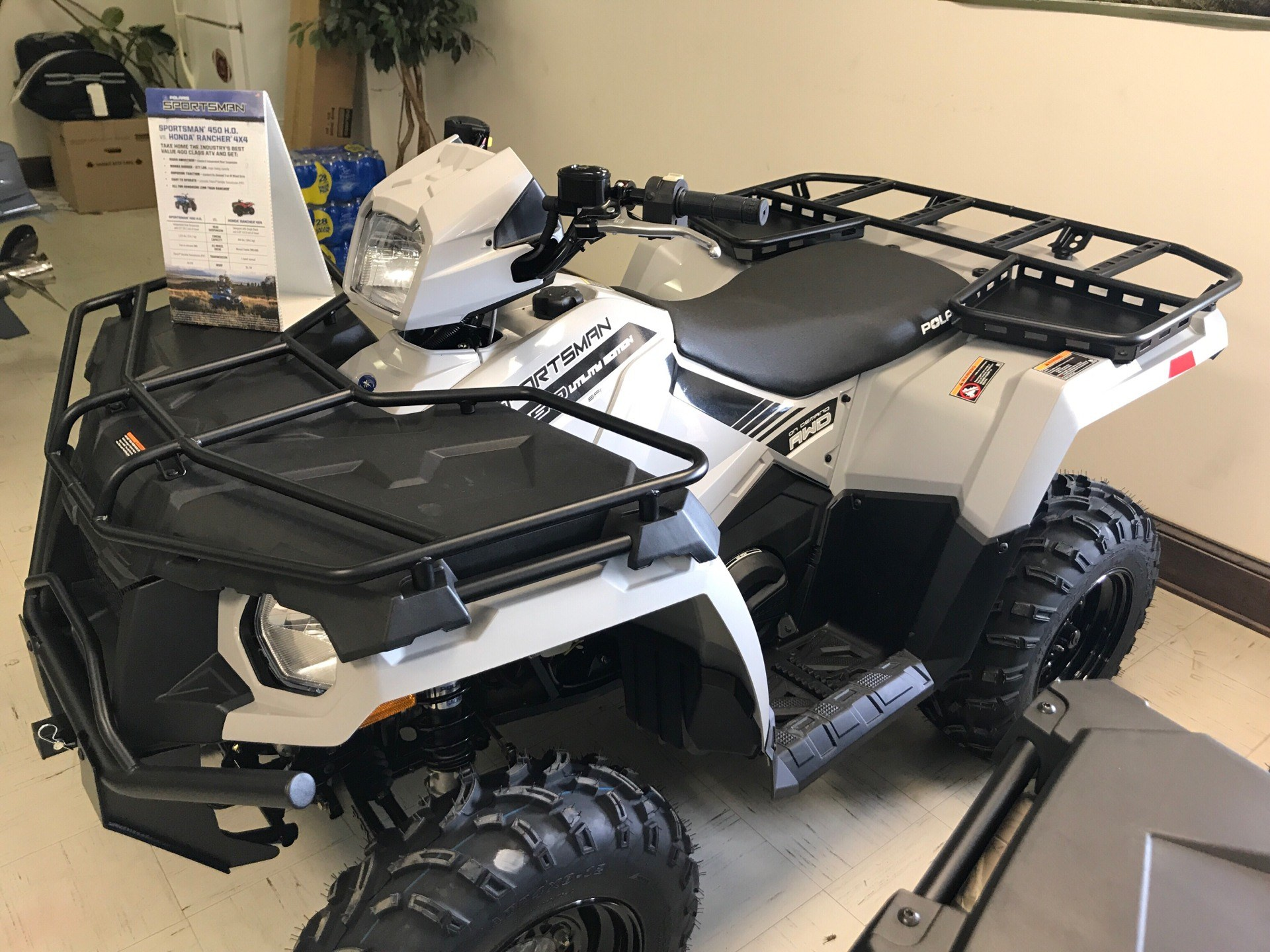 2019 Polaris Sportsman 450 H.O. Utility Edition in Newberry, South Carolina
