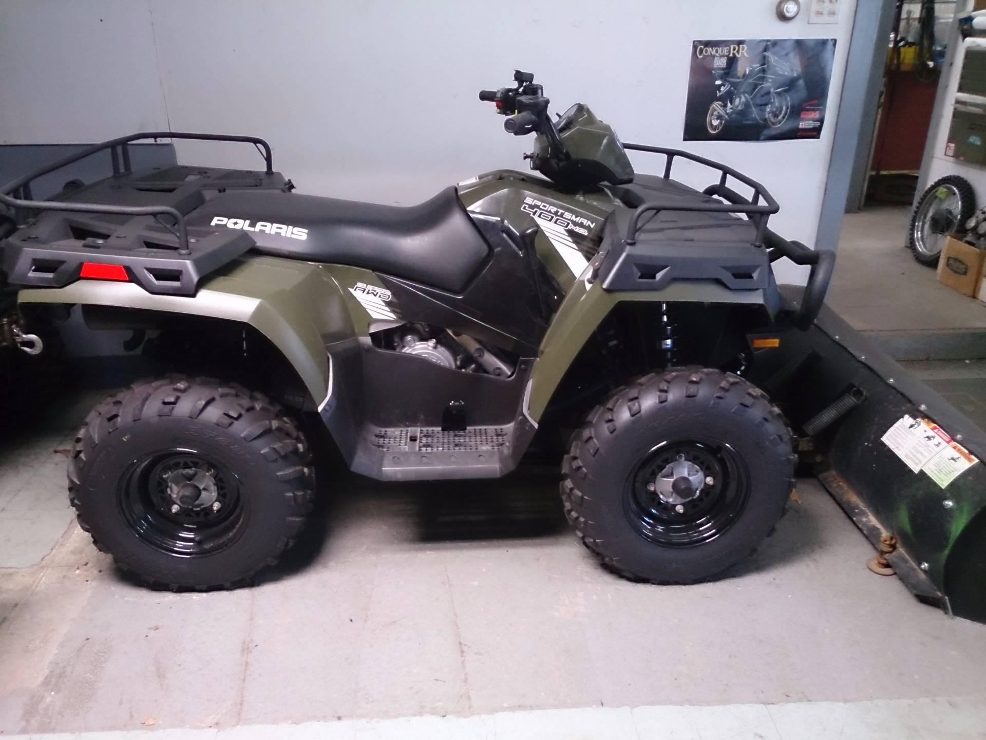 2014 Polaris Sportsman® 400 H.O. SE in Sterling, Illinois