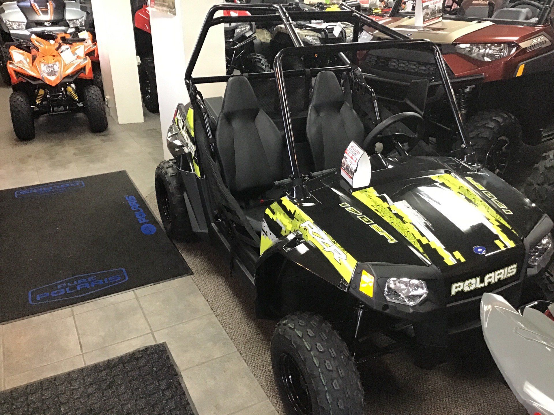 2019 Polaris RZR 170 EFI in Sterling, Illinois - Photo 2