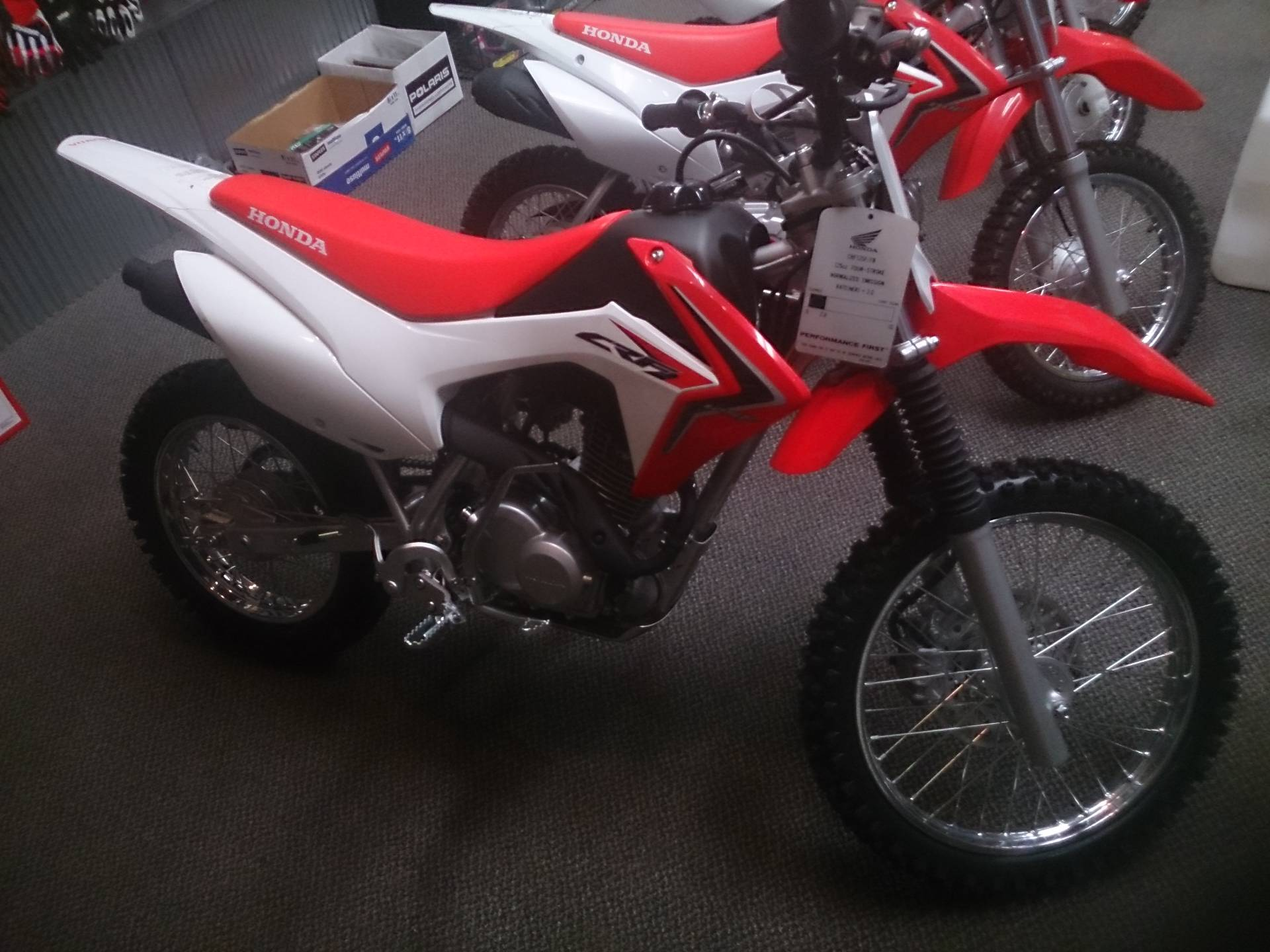 2018 Honda CRF125F in Sterling, Illinois