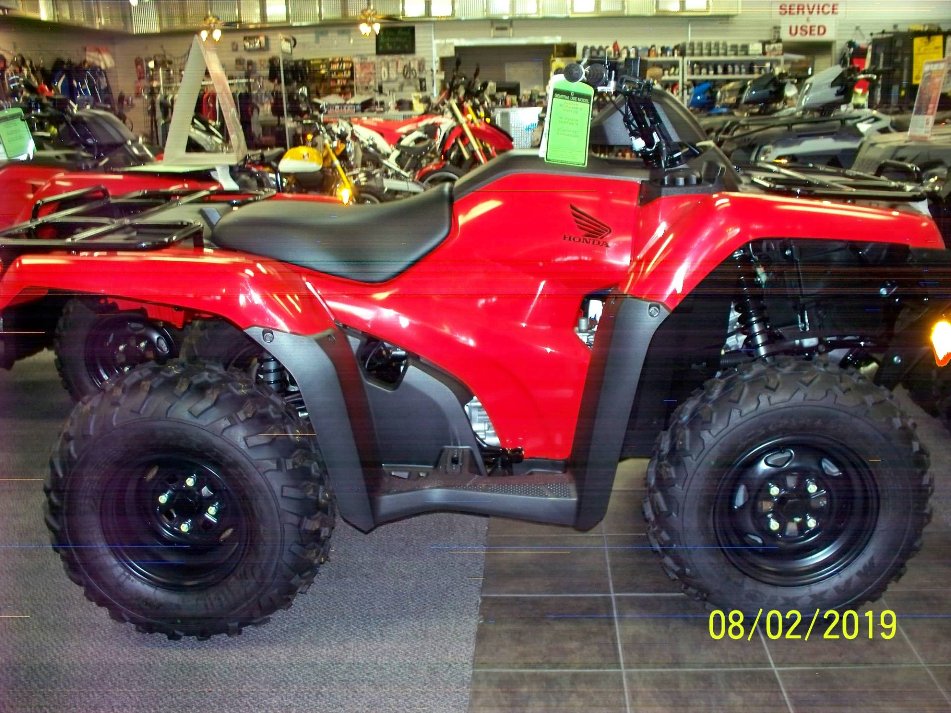 2019 Honda FourTrax Rancher 4x4 DCT EPS in Sterling, Illinois - Photo 3