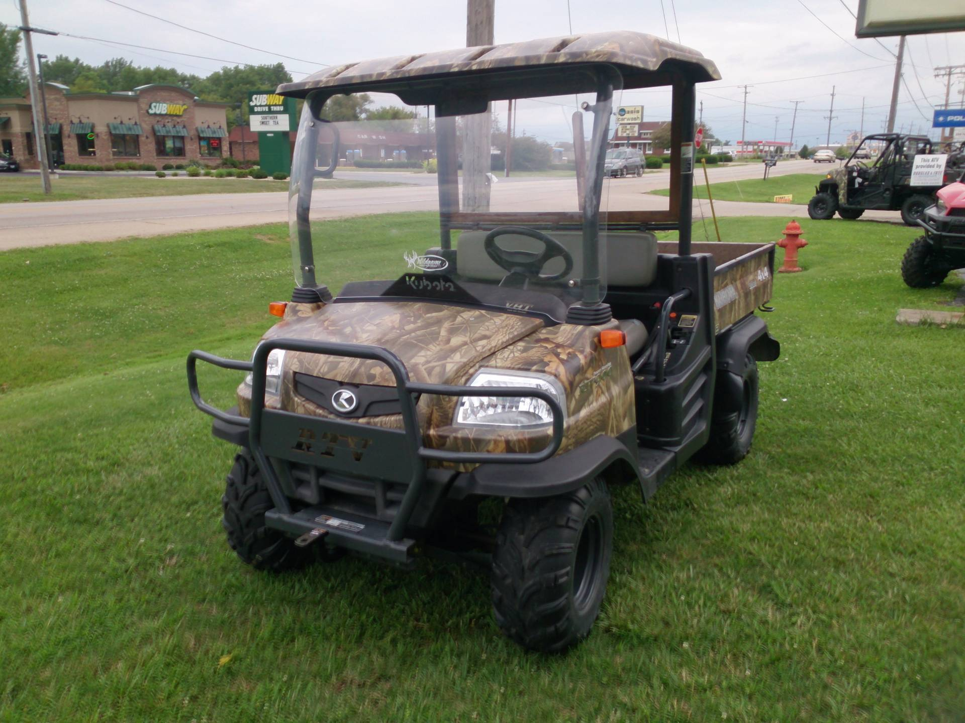 2009 Kubota RTV900 Worksite (Camouflage) for sale 47051
