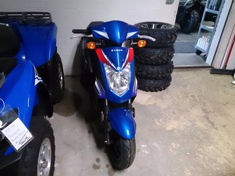 2017 Kymco Agility 125 in Sterling, Illinois