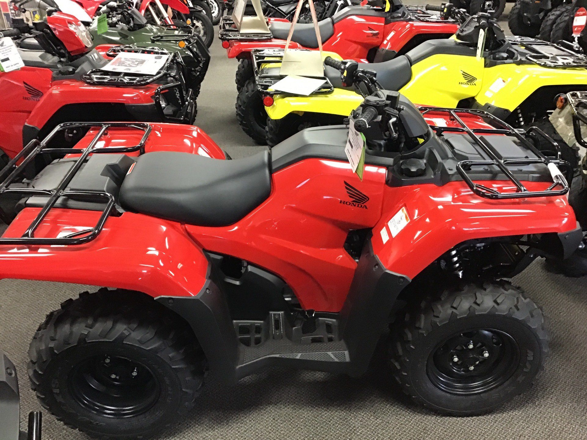 2019 Honda Rancher 420 AT EPS in Sterling, Illinois - Photo 2