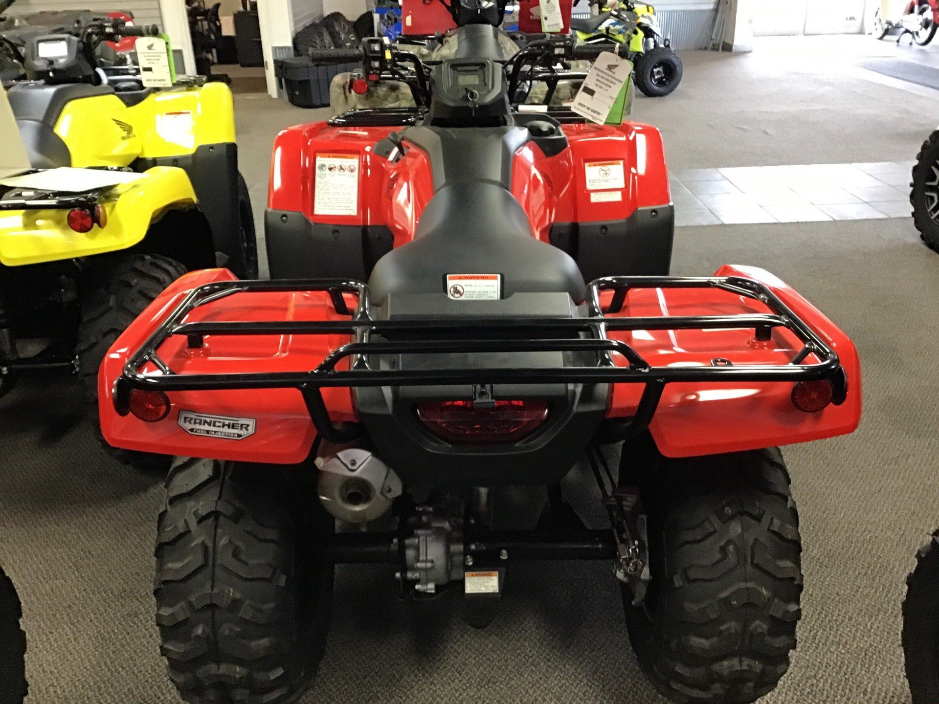 2019 Honda Rancher 420 AT EPS in Sterling, Illinois - Photo 3
