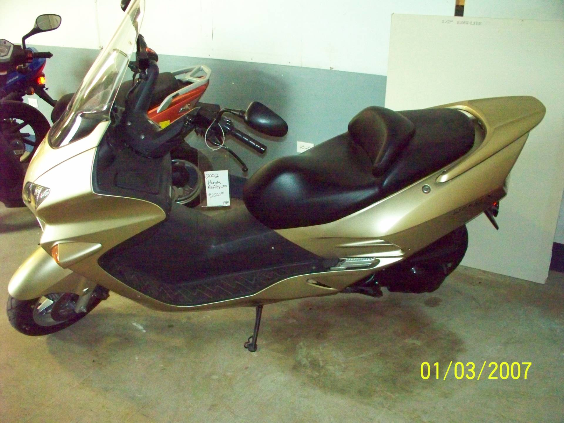 2002 Honda Reflex NSS250 in Sterling, Illinois