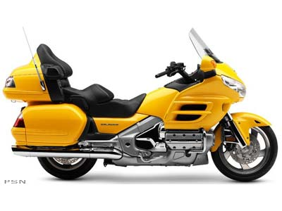 2009 Honda Gold Wing® Audio Comfort in Sterling, Illinois