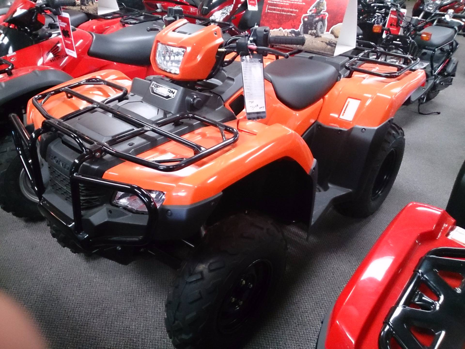 2016 Honda FourTrax Foreman 4x4 ES in Sterling, Illinois